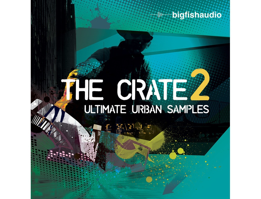 Big Fish Audio The Crate 2 - Ultimate Urban Samples