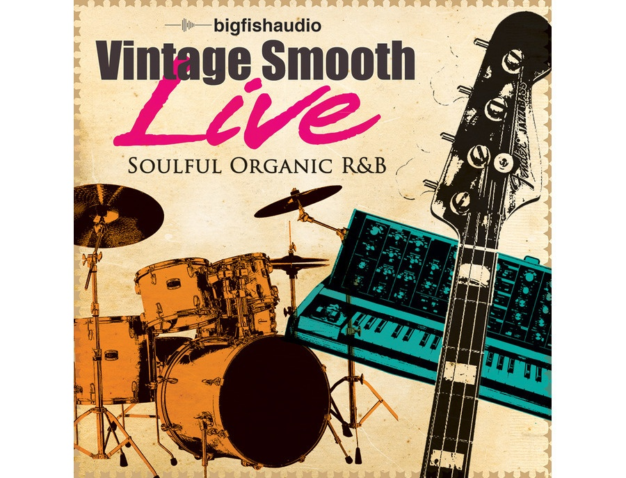 Big Fish Audio Vintage Smooth Live