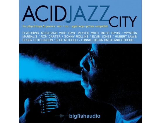Big Fish Audio Acid Jazz City