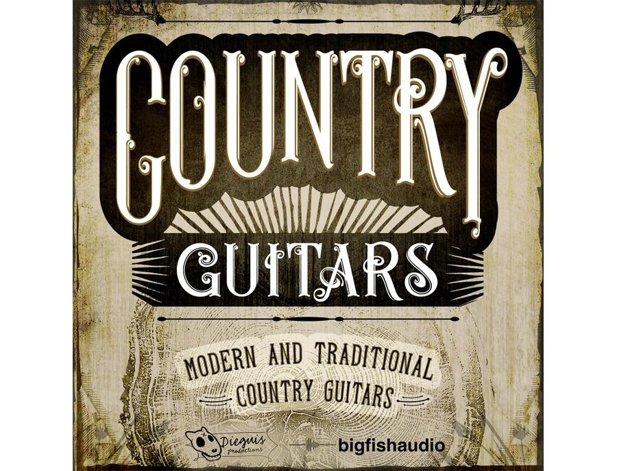 Big Fish Audio Country Guitars
