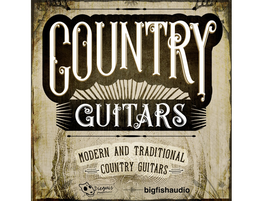 Big Fish Audio Country Guitars