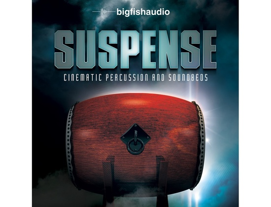 Big Fish Audio Suspense: Cinematic Percussion and Soundbeds