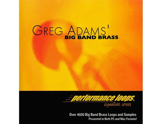 Big Fish Audio Greg Adams' Big Band Brass