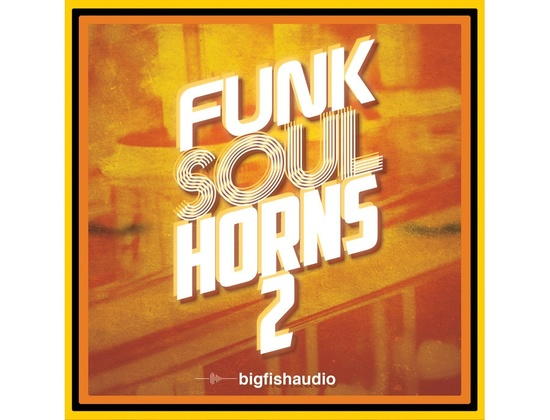 Big Fish Audio Funk Soul Horns 2