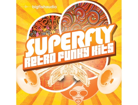 Big Fish Audio Superfly: Retro Funky Kits
