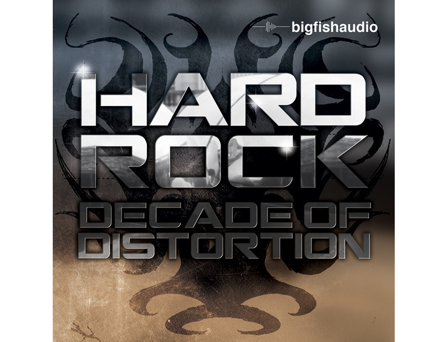 Big Fish Audio Hard Rock - Decade of Distortion