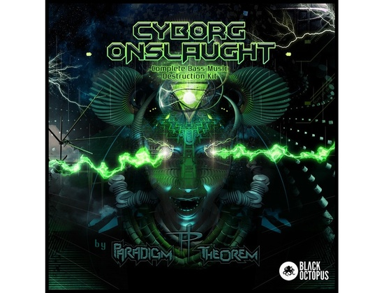 Black Octopus Cyborg Onslaught by Paradigm Theorem