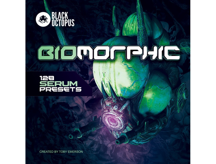 Black Octopus Biomorphic: 128 Serum Presets