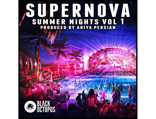 Black Octopus Supernova Summer Nights Vol. 1