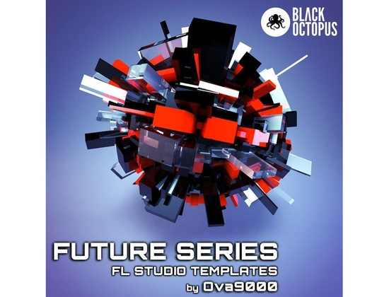Black Octopus Future Series - FL Studio Templates by Ova9000
