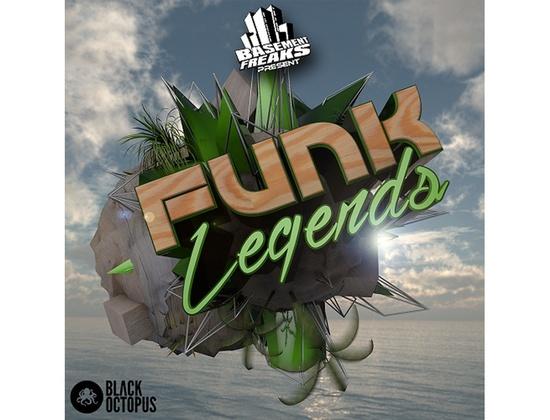 Black Octopus Basement Freaks Funk Legends
