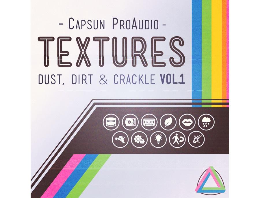 CAPSUN ProAudio Textures - Dust, Dirt & Crackle Vol. 1