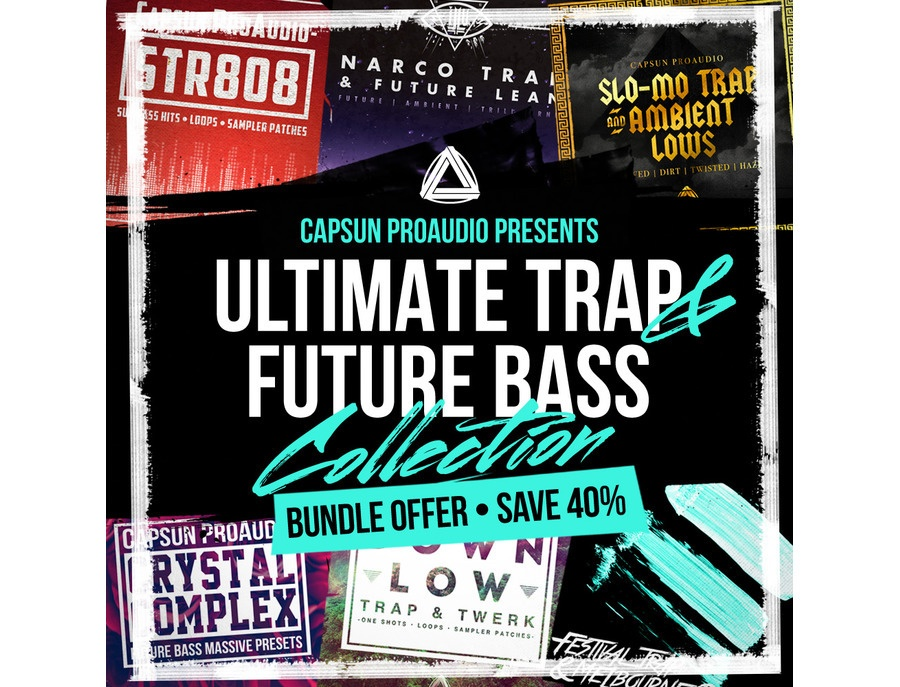 CAPSUN ProAudio Ultimate Trap & Future Bass Collection