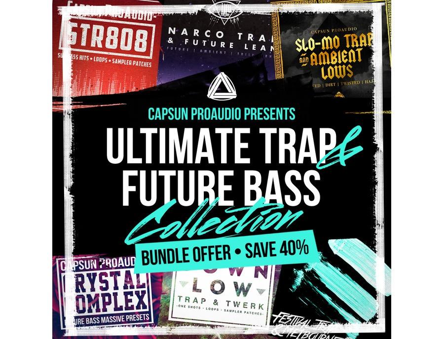 Capsun proaudio ultimate trap future bass collection xl