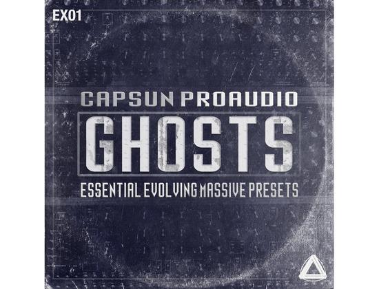CAPSUN ProAudio Ghosts - Essential Evolving Massive Presets