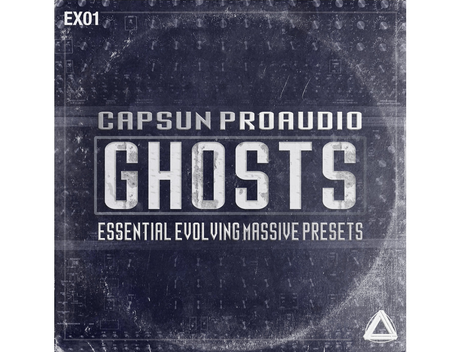 CAPSUN ProAudio Ghosts - Essential Evolving Massive Presets