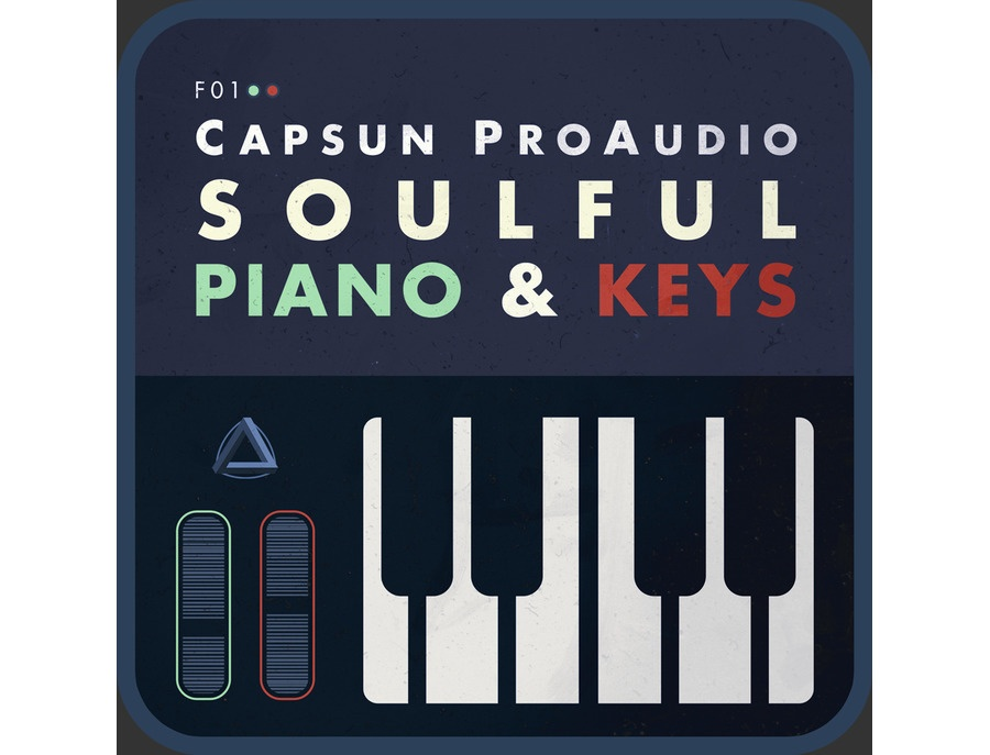 CAPSUN ProAudio Soulful Piano & Keys - MIDI & Loops