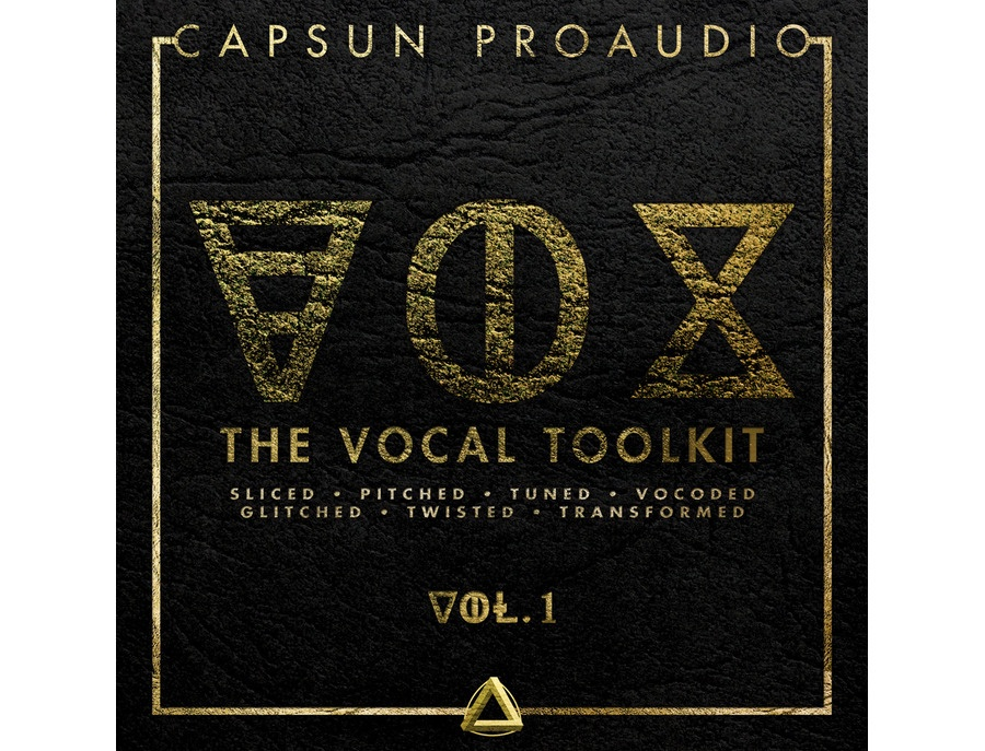 CAPSUN ProAudio VOX - The Vocal Toolkit Vol. 1