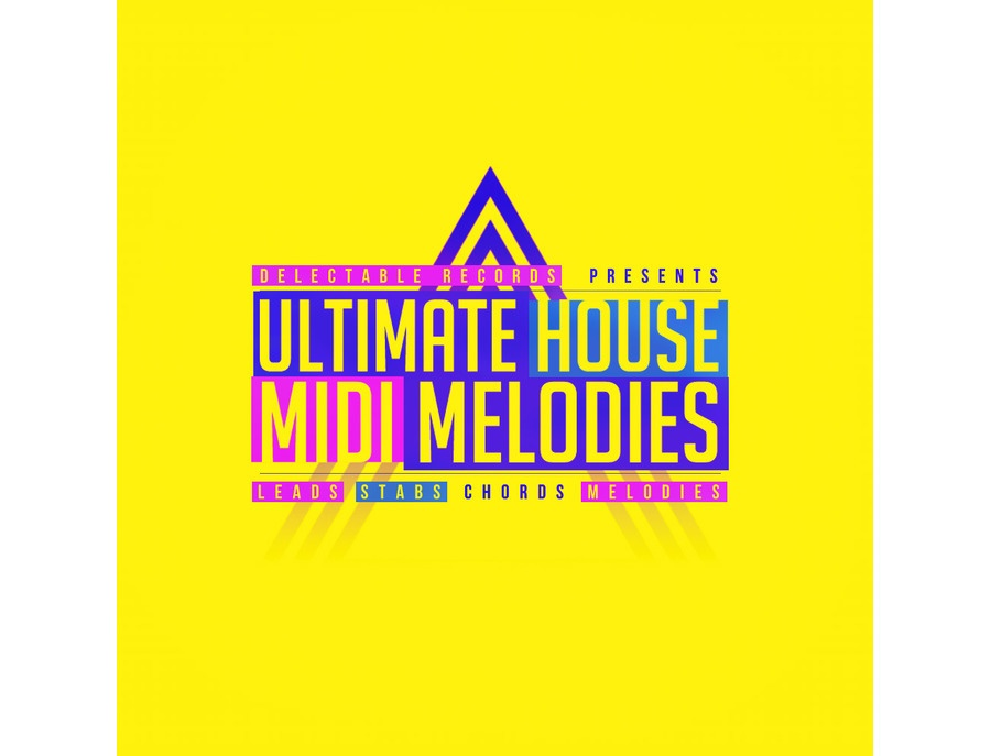 Delectable Records Ultimate House MIDI Melodies