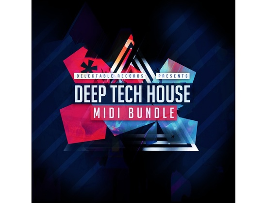 Delectable Records Deep Tech House MIDI Bundle
