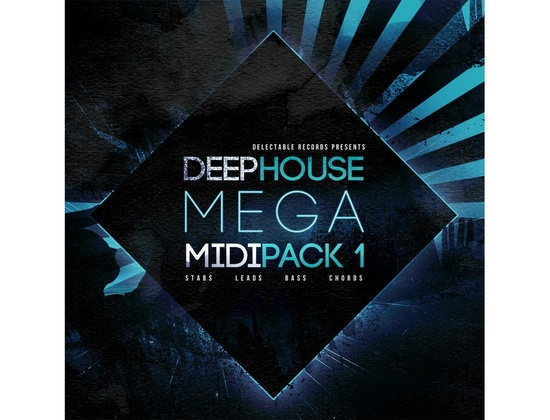 Delectable Records Deep House Mega MIDI Pack 1
