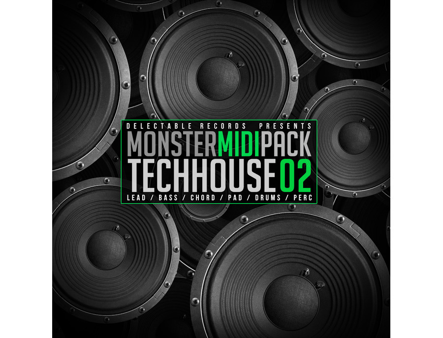 Delectable Records Tech House Monster MIDI Pack 02