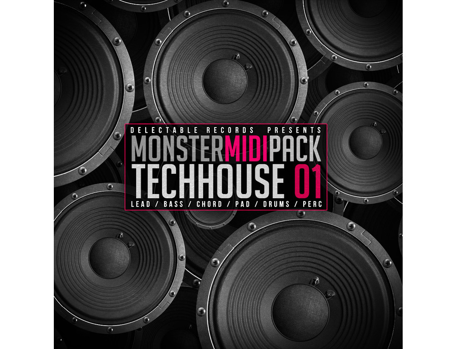 Delectable Records Tech House Monster MIDI Pack 01