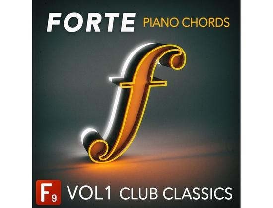 F9 Audio Forte Piano Chords Vol 1 - Club Classics
