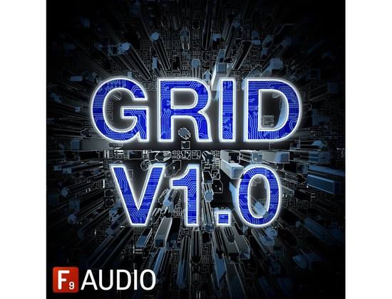 F9 Audio Grid V1.0 : 80â??s Future Retro