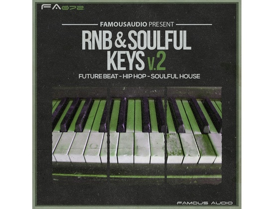 Famous Audio RnB Soulful Keys 2