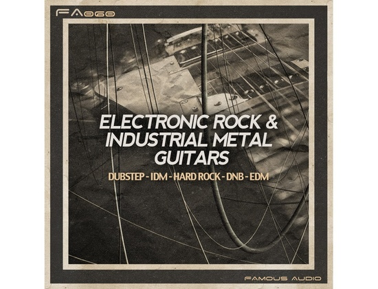 Famous Audio Electronic Rock & Industrial Metal Guitars