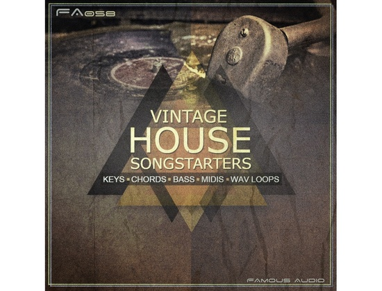 Famous Audio Vintage House Songstarters