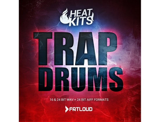FatLoud Heat Kits Trap Drums