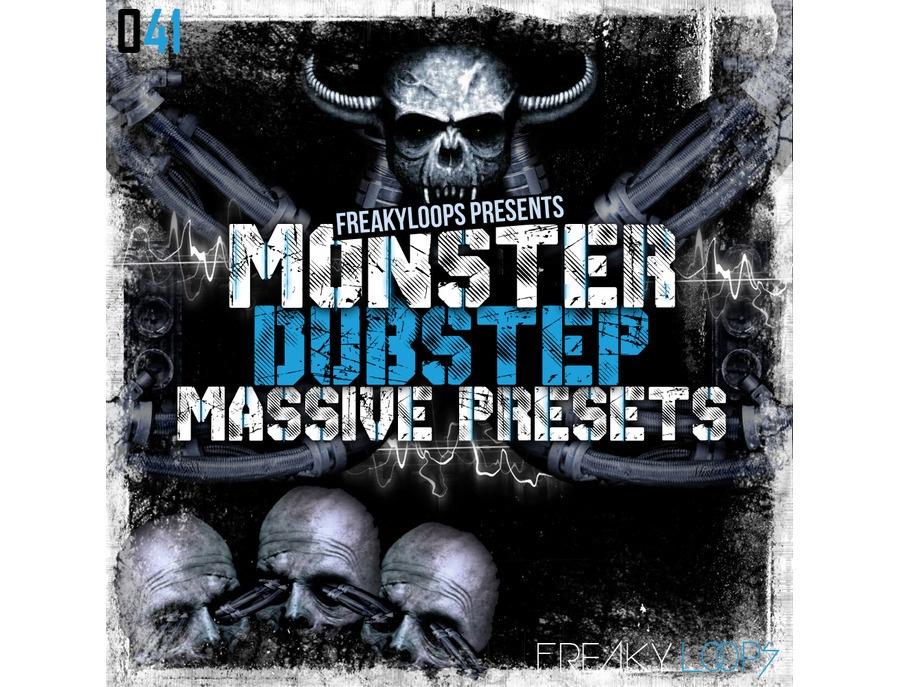Freaky Loops Monster Dubstep - Massive Presets
