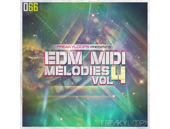 Freaky Loops EDM MIDI Melodies Vol. 4