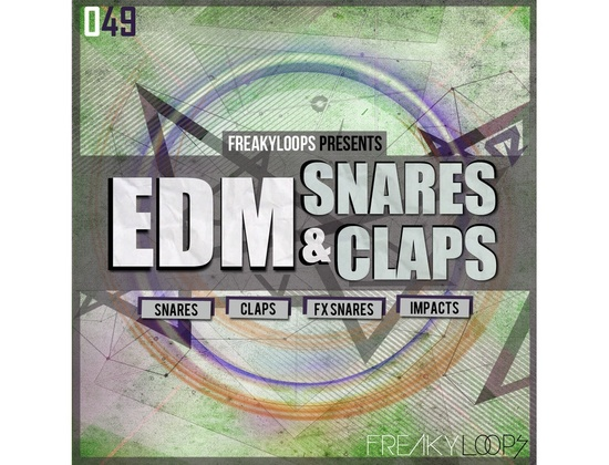 Freaky Loops EDM Snares & Claps