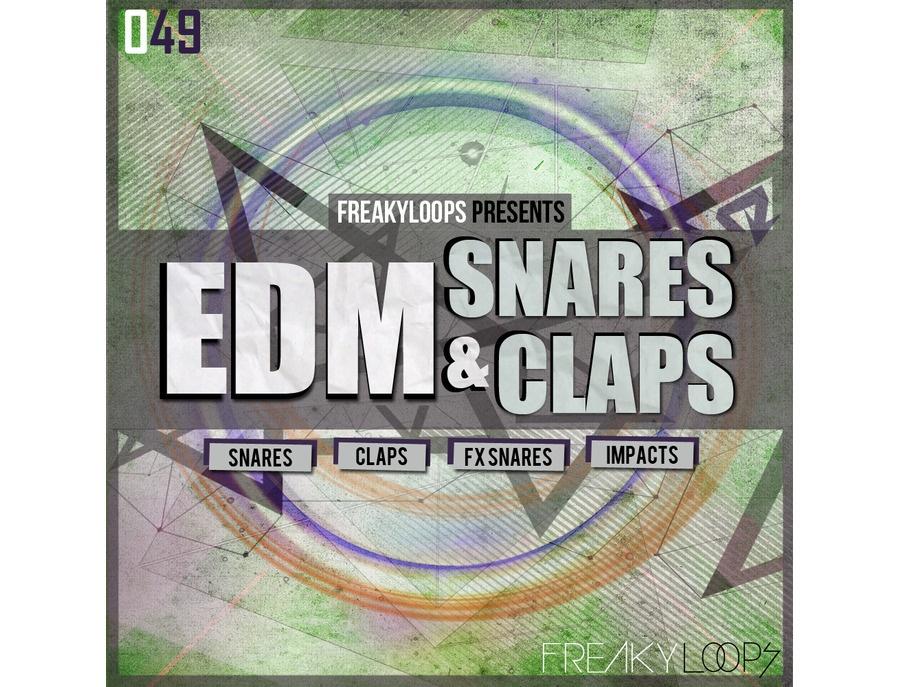 Freaky Loops EDM Snares & Claps