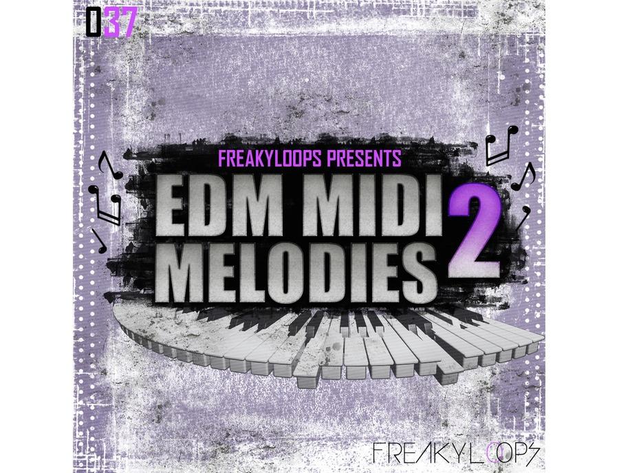 Freaky Loops EDM MIDI Melodies 2
