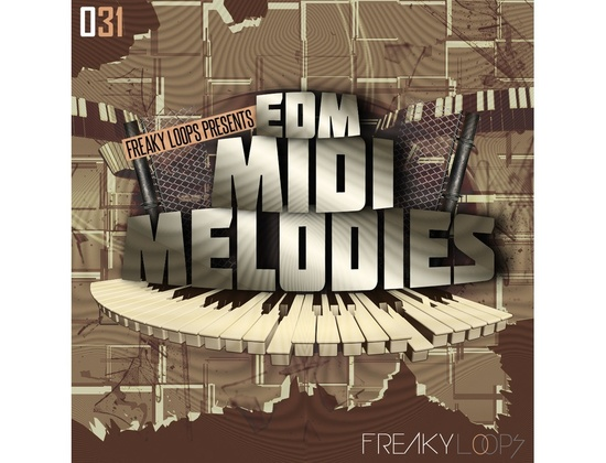 Freaky Loops EDM MIDI Melodies