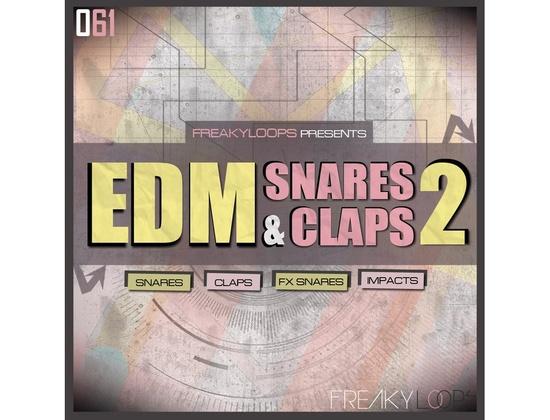 Freaky Loops EDM Snares & Claps 2