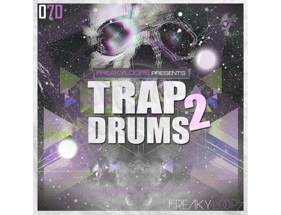 Freaky Loops Trap Drums 2