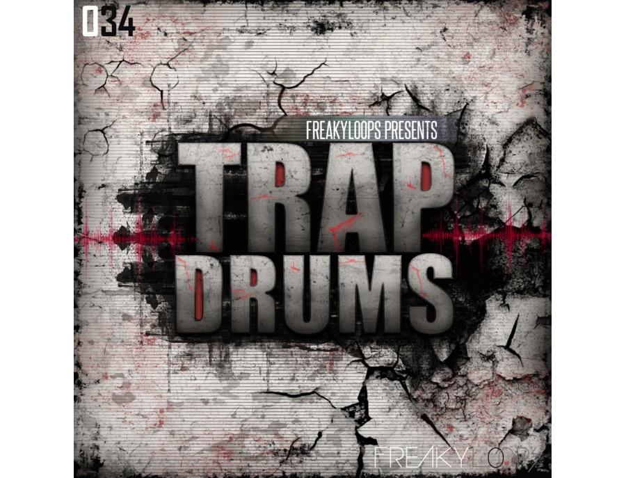 Freaky loops trap drums xl