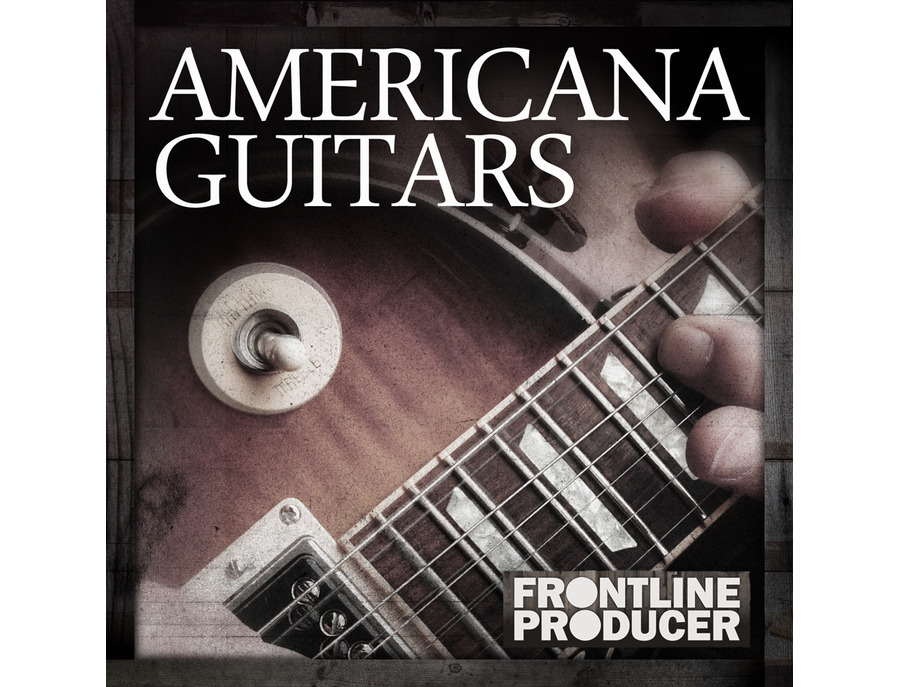 Frontline Producer Americana Guitar Licks And Riffs