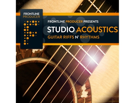 Frontline Producer Studio Acoustics - Guitar Riffs N' Rhythms