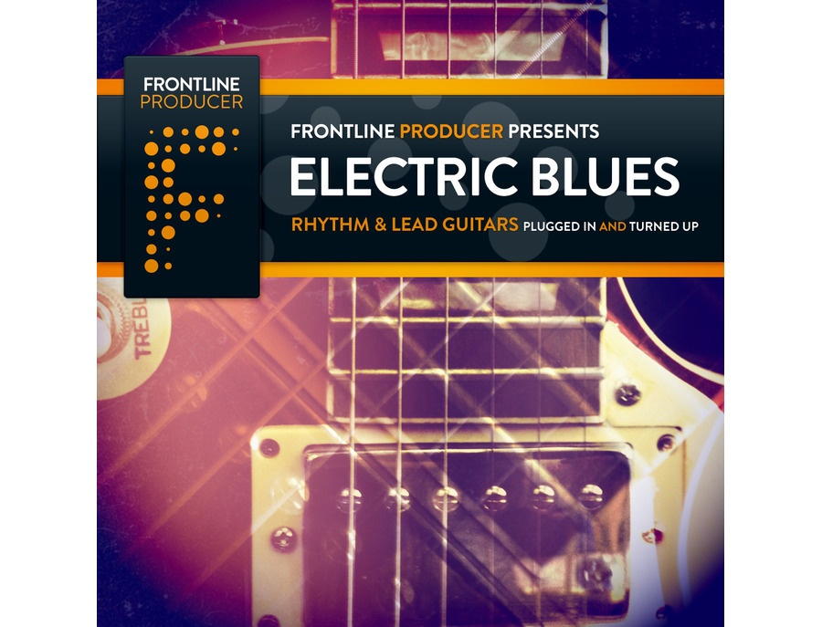 Frontline Producer Electric Blues - Rhythm & Lead Guitars