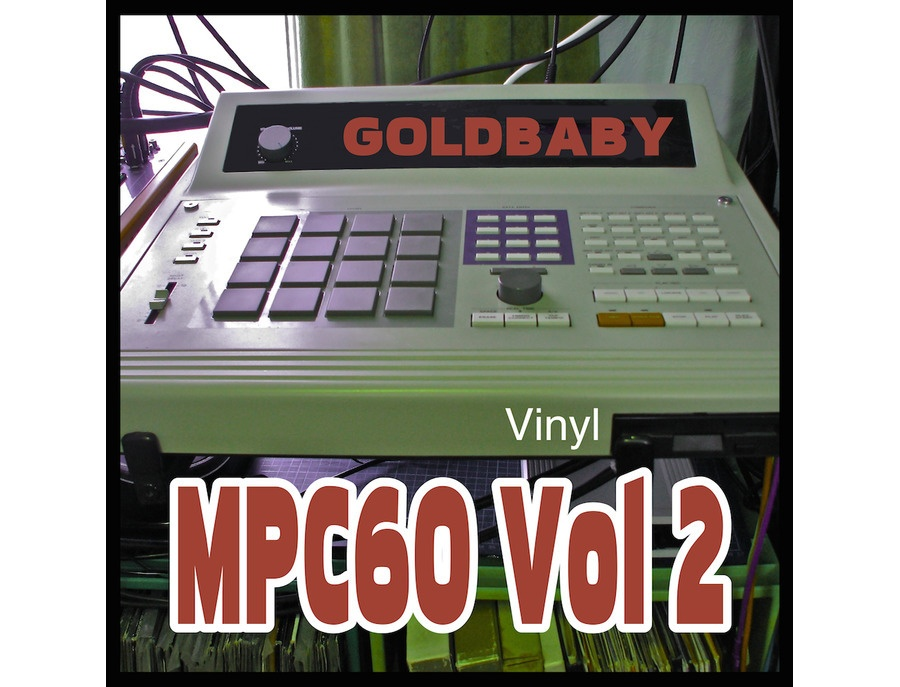 GoldBaby MPC60 Vol. 2 (Vinyl)