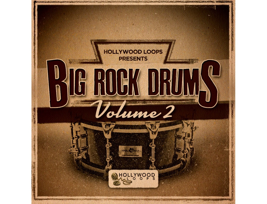 Hollywood Loops Big Rock Drums 2