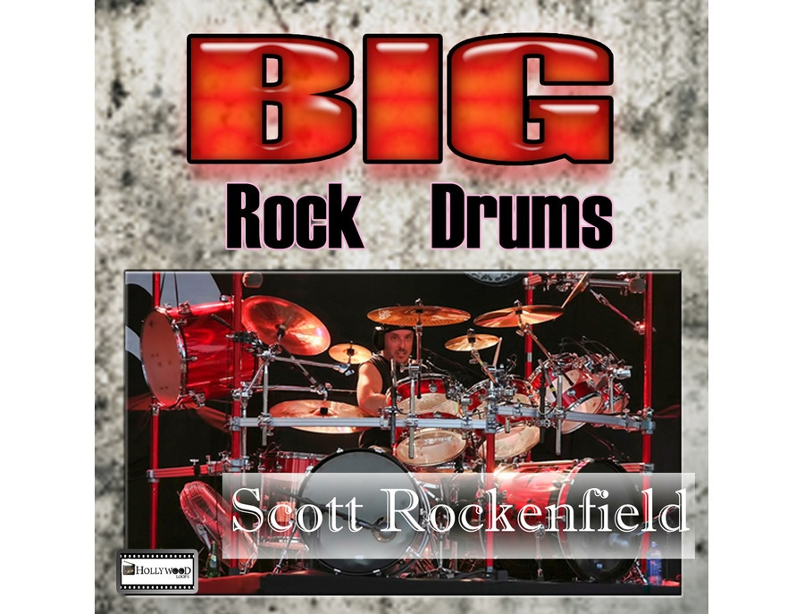 Hollywood Loops Big Rock Drums