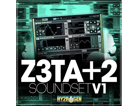 HY2ROGEN Z3TA+2 Soundset Vol.1
