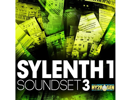 HY2ROGEN Sylenth 1 Soundset Vol.3